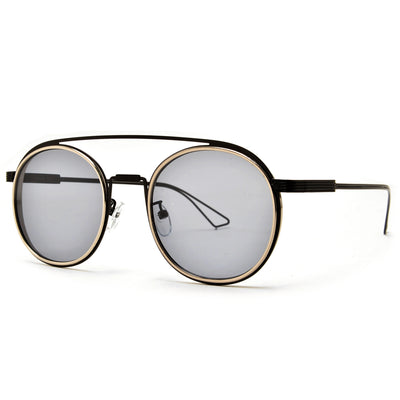 Retro Cool Round Aviator - Sunglass Spot
