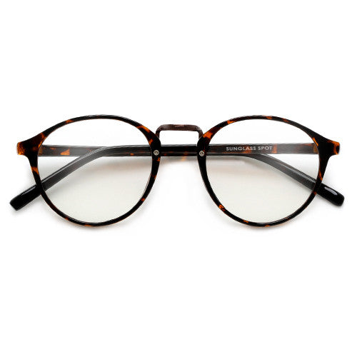 Round Ultra Contemporary Sleek Daily Eyewear - Sunglass Spot