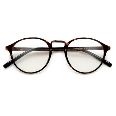 Round Ultra Contemporary Sleek Daily Eyewear