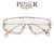 PREMIER COLLECTION-STANDOUT STUDDED RIMLESS SHIELD EYEWEAR