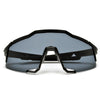 Oversize Full Coverage Active Sport Super Shield Sunglasses - Sunglass Spot
