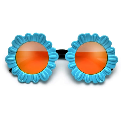 Super Cute Oversize Sunflower Frame Sunglasses