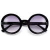 Thick Round Retro Allure Round Sunnies