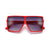 KIDS BOLD SQUARED OFF VISOR INSPIRED SUNGLASSES