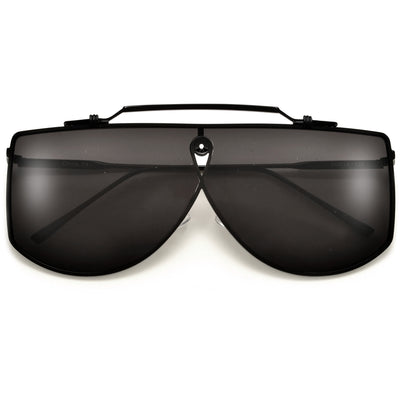 Bold Brow Bar Mask Shield Sunglasses