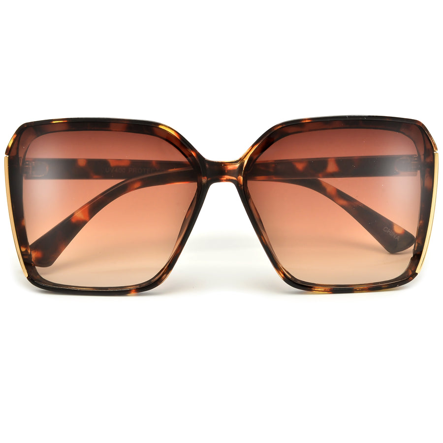 Oversize Chic Allure Squared Off Sunnies