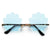 SEASHELL RIMLESS SUNNIES