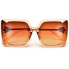 Oversize Contemporary Square Sunnies