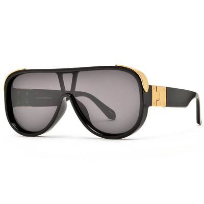 Full Mask Coverage Millionaire Sunglasses - Sunglass Spot