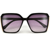 Contemporary Thick Frame Cat Eye Sunnies - Sunglass Spot