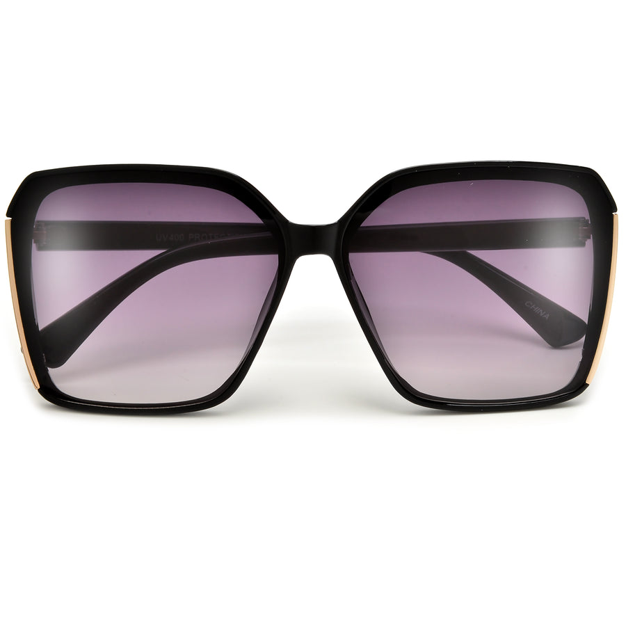 Contemporary Thick Frame Cat Eye Sunnies