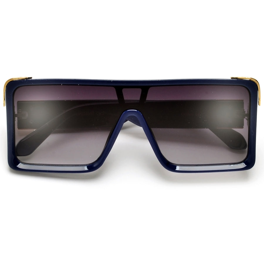 Deep Beveled Square Mask Shields - Sunglass Spot