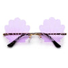 SEASHELL RIMLESS SUNNIES - Sunglass Spot