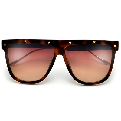 ITALLION COLOR LOGO STAR STRUCK AVIATOR  SUNNIES - Sunglass Spot