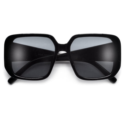 Ultra Chic Squared Off Quilted Temple Sunnies
