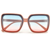 Chunky Retro Appeal Square Frame Sunnies