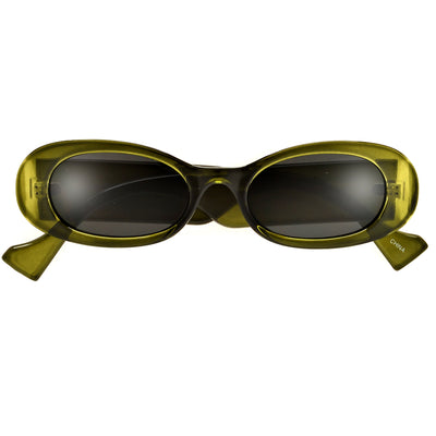 Oversize Classic Square Open Temple Ultra Chic Sunnies