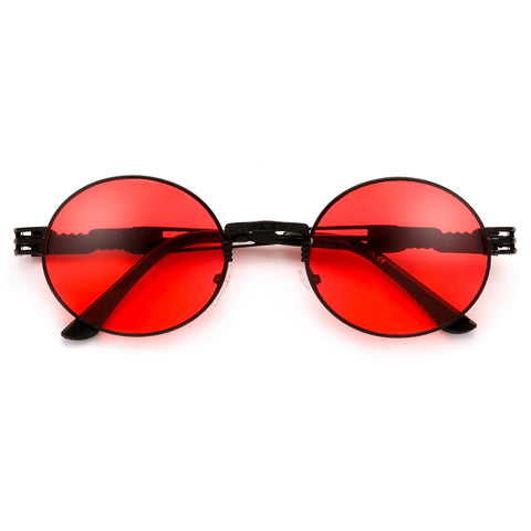 53mm Oversize Round Sporty Ultra Chic Sunnies