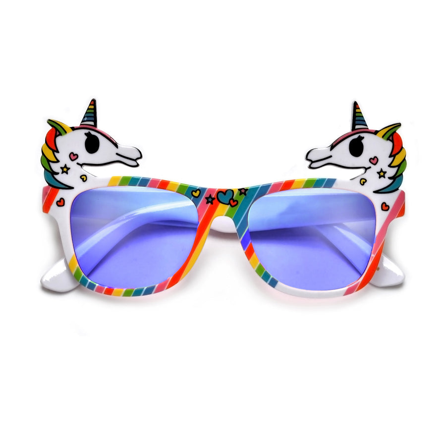Kids Cute Colorful Rainbow Unicorn Sunnies - Sunglass Spot