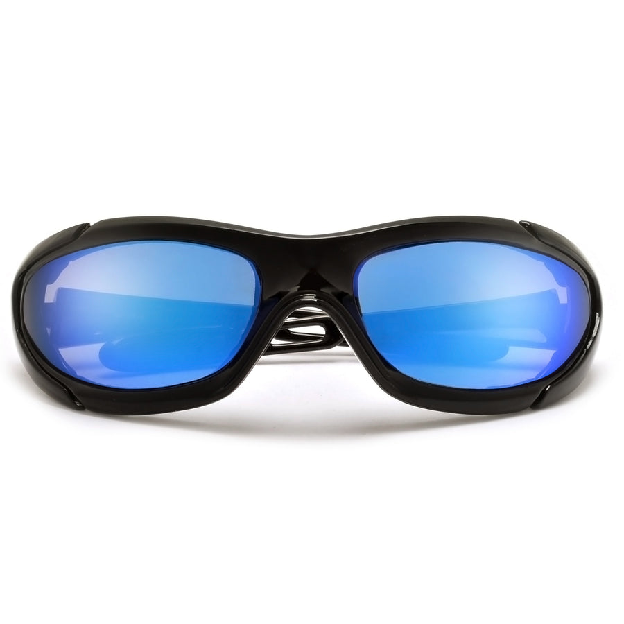 Ultimate Foam Padded Wrap Around Biker Sunglasses