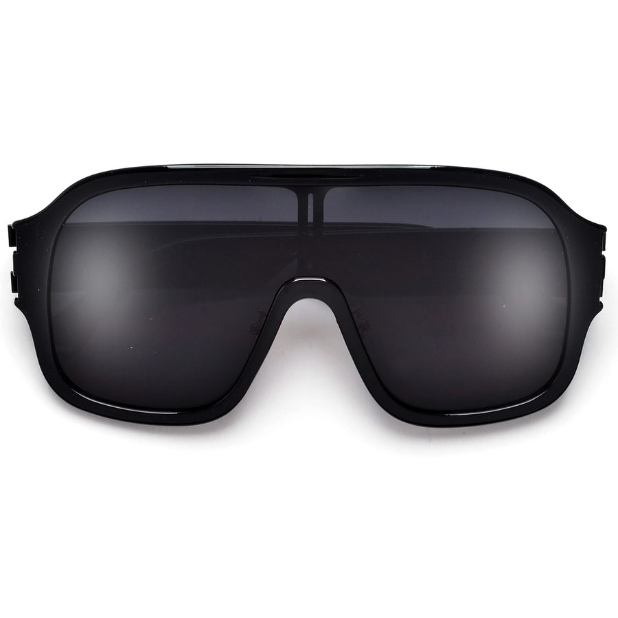 Oversize Full Coverage Shield Sunnies