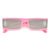 Futuristic Upbeat Full Coverage Rectangular Sunglasses