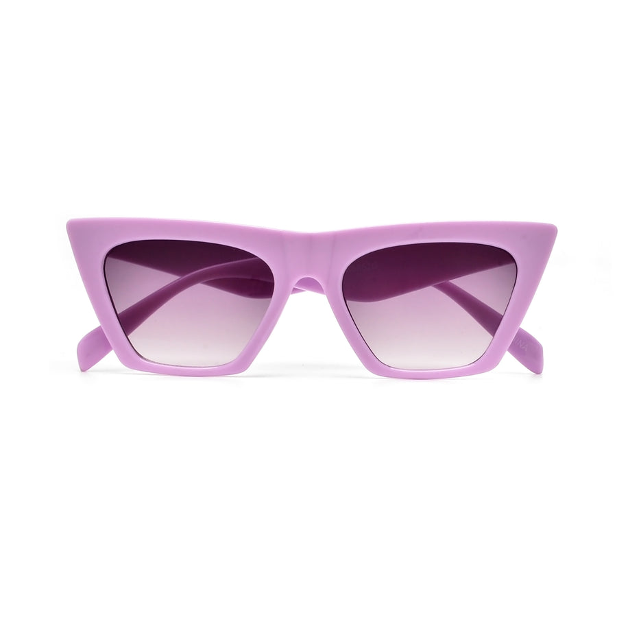 Sharp Angular Bold Lil Fashionista Cat Eye Sunnies