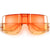 Oversize Studded CutOut Future Fab Sunglasses
