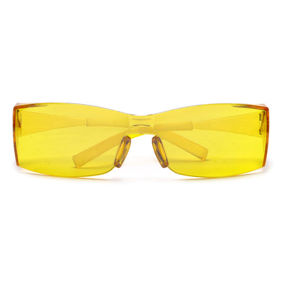 Wraparound Light Project Rectangular Safety Glasses