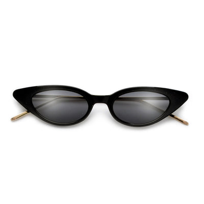 Chic Edgy Slim Cat Eye Sunnies - Sunglass Spot