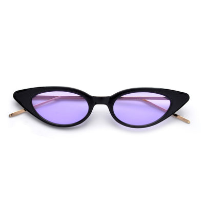 Chic Edgy Slim Cat Eye Sunnies