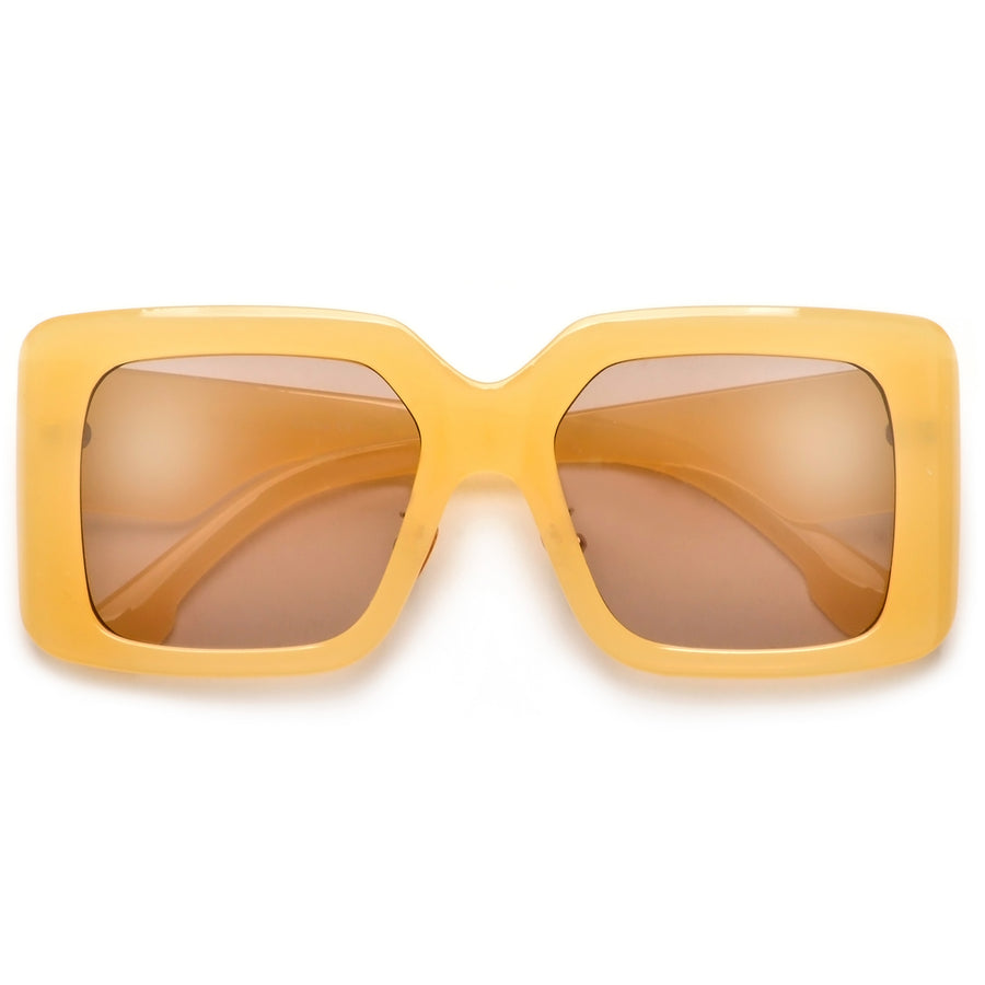 Chic Bold Thick Classic Square Sunnies