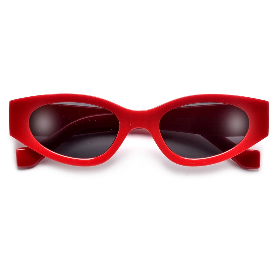Retro Vibe Slim Cat Eye Sunnies