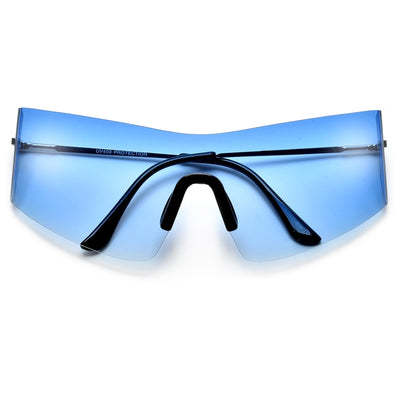 Sporty Full Coverage Light Weight Shields