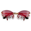 Irresistible Rimless Water Droplet Sunnies - Sunglass Spot