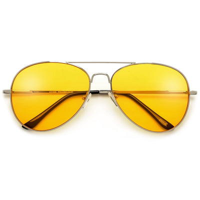 Oversize 62mm Angular Square Frame Contemporary Style Sunglasses - Sunglass Spot