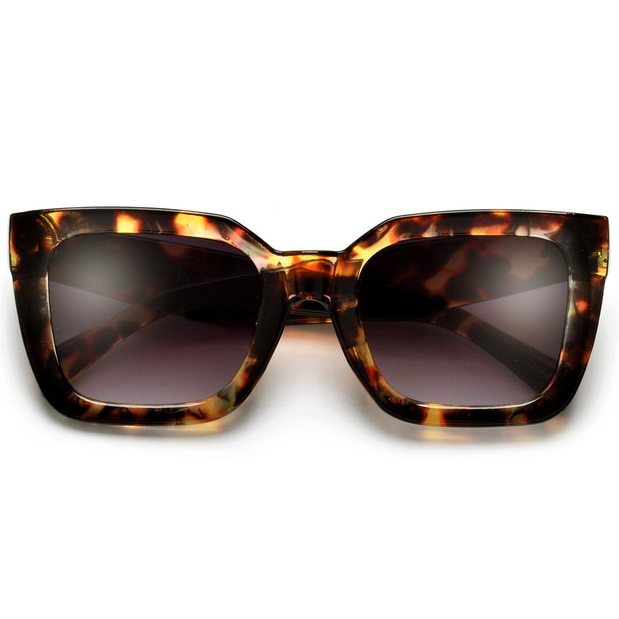 Chunky Squared Off Cat Eye Sunnies