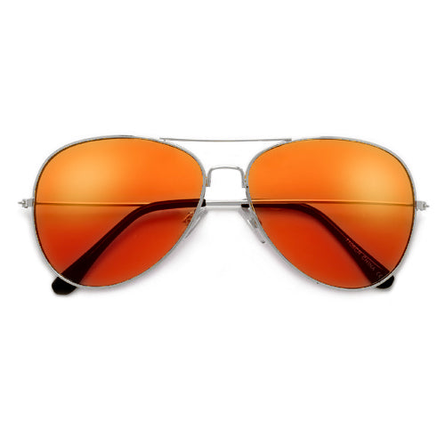 Rock Star Status Classic Colorful Teardrop Aviator