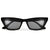Oversize Braided Frame High Fashion Sunglasses