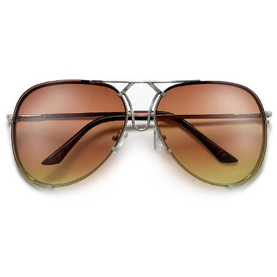 High Fashion Designer Inspired Artistry Crafted Aviator Sunglasses - Sunglass Spot