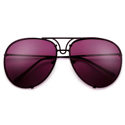 High Fashion Designer Inspired Artistry Crafted Aviator Sunglasses
