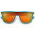 Sporty Vibrant Flat Top Shield Sunnies