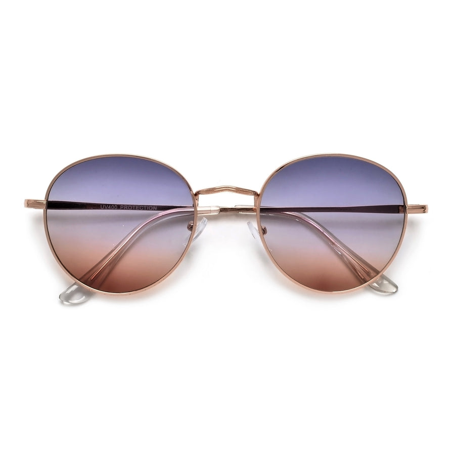 Polarized Oversize Retro Round Women's Chic Sunglasses