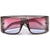 Oversize Sleek Contemporary Thick Temple High Fashion Sunglasses