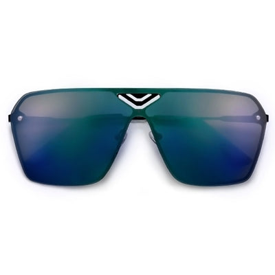 Show Off Reflective Mirrored Lightweight Shield Sunnies