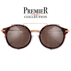 Premier Collection-Metal Mesh Side Cup Modern Design 54mm Round Sunnies