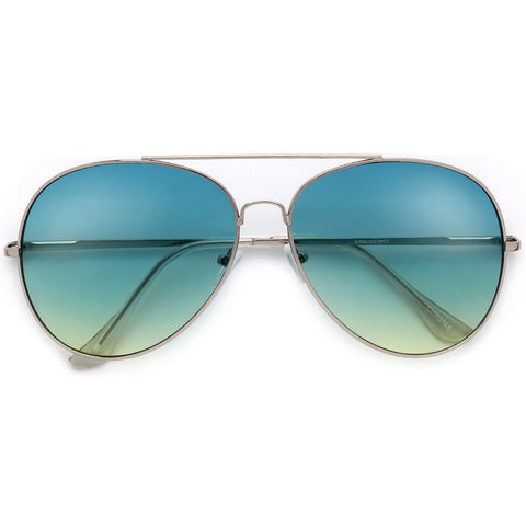 """King of Rock and Roll"" Iconic Gold Elvis Inspired Aviator"