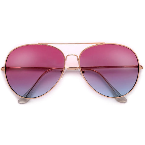 Oversize 54mm Designer Inspired Metal Trim Frame Architectural High Fashion Sunglasses