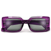 Bold Modern Appeal Rectangular Sunnies