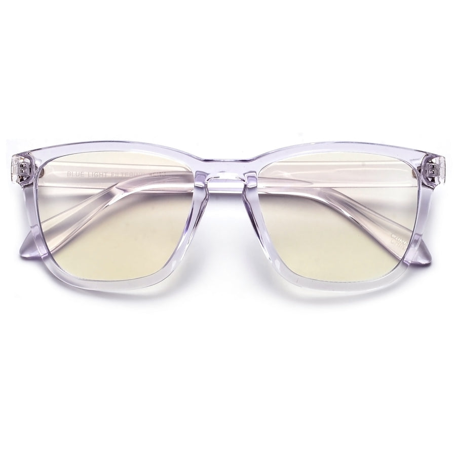 Squared Blue Light Filter Stylish Vibe Eye Wear